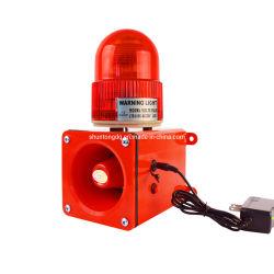 Sntoom Stsg-05cc montaje magnético potente Sirena de alarma de servicio pesado con advertencia de la luz de faro