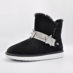 Stivali da neve Star Belt Donna Stivali da caviglia Stivali invernali in pelliccia