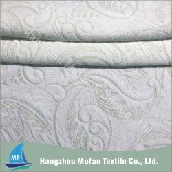 De hete Tikkende Stof van de Matras van de Jacquard van het Patroon van de Verkoop Groene Bamboe Gebreide