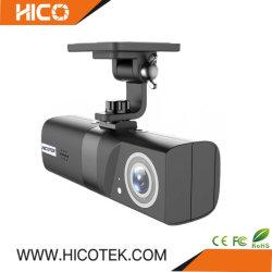 la retrovisione DVR del tassì del bus del camion dell'automobile di obbligazione di GPS di visione notturna del CCTV 1080P si raddoppia veicolo della macchina fotografica del precipitare