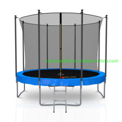 Coolmore Eco 10/12/14/15FT Round Trampoline with Inside Safety Net