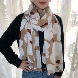 美しいプリントスカーフ Hijab ラップレディビーチマフラーシルク