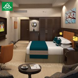 Фантазии отель мебелью оптовой капсула кровать контракт с одной спальней обставлены мебелью из красного дерева.