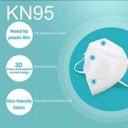 Kn95 Standard, Anti-The disseminação da poluição atmosférica Dropletst, gás que deixa respirar, alergias, equipamento de máscara de segurança