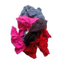 Vêtements de couleur sombre industriels Les déchets de chiffons de coton d'essuyage