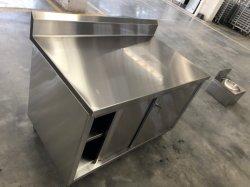 Aço inoxidável Bancada de cozinha cozinha/Mesa de Trabalho