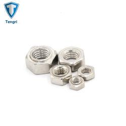La Fundación de acero inoxidable de alta calidad ASME tuercas soldadas hexagonal personalizado