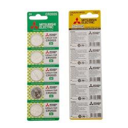 Mitsubishi-Lithium-Batterie-/Tasten-Münzen-Zelle (CR2025) 3