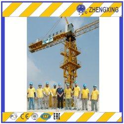 أطقم الصين العليا ذاتية نصب 5 10 طن برج رافعة الطبوكيت Qtz160 (ZX7015-10T)