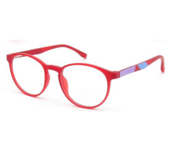 نظارات ضوئية خفيفة باللون الأزرق قابلة للتسمية خاصة للأطفال