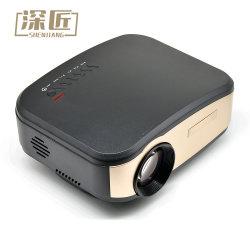 720p Projector van uitstekende kwaliteit van de LEIDENE van de Bioskoop HD van de Premie 4K de VideoLCD Mobiele Telefoon voor de Bioskoop van het Huis