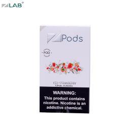 Rauch gefror neuester Vape Cartomizer Zlab Rauch Zigarette der Erdbeere-elektronische Zigarette Vape Hülse-E