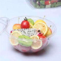 Caixas de embalagem descartáveis Pet Portable efectuar Containers retirar Caixas Caixas de frutas de cozinha