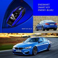 Kaift CF400 스마트 카 스마트 키 시스템 2021새로운 디자인 LCD 자동차 키 커버 4버튼 원격 자동차 키 쉘 케이스 BMW와 Benz