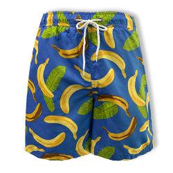 Conseil nager été garçon fabricant de maillots de bain Polyester Shorts de plage à séchage rapide