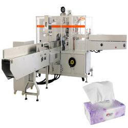 Serviette en tissu doux Pack Salle de Bain Machine d'emballage d'enrubannage