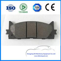 Низкий уровень шума металлический Semi Auto запасные части D1222 тормозных колодок для Toyota Camry