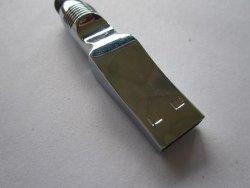 Het Embleem van de Aandrijving van de Flits van de Pen USB van de Stijl van de aanraking graveerde Beschikbaar (om-M186)