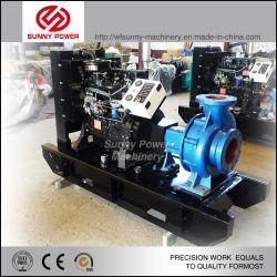 pompa ad acqua diesel 6inch per irrigazione agricola/progetto comunale