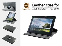 Роскошный высокое качество 360 градусов вращения PU футляр из натуральной кожи для Asus TF300 TF300t Eee Pad трансформатора с подставкой
