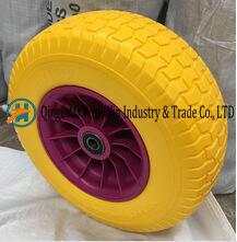 Mousse de PU pneus tubeless pour tondeuse à gazon (16x6.50-8)