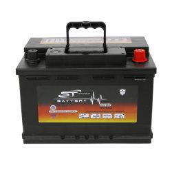 高性能の長い生命DIN75mf 12V75ah鉛酸Mfのカー・バッテリー