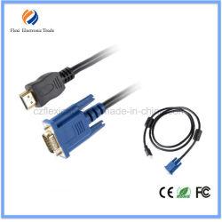 VGA macho a HDMI hembra Sexi vídeo VGA de 60 pulgadas con HDMI Puerto USB