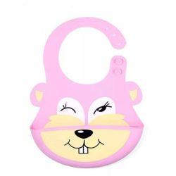 A comida para bebé Bibs Ultra-Soft à prova de crianças para crianças de silicone de bolso da Calha