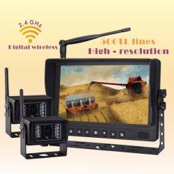 أجزاء الجرار في نظام الكاميرا اللاسلكية للحصادة الحصادة الزراعية وماكينات الغابات رؤية السلامة