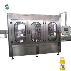Alimentos bebidas de jugo de maquinaria máquina de llenado y sellado en caliente de Jugos /Máquina de Llenado de jugo de precio con planta de proceso de llenado