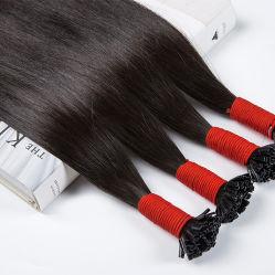 유럽인 100%년 Virgin 사람의 모발 씨실 매끄러운 직모 인간적인 Remy 머리 직물