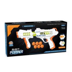 Pistola di plastica di Popper di scoppio di nuovo stile per le sfere di EVA dei capretti che sparano i giocattoli della pistola di sport di potenza aerea del gioco