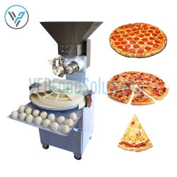 Tagliatrice più rotonda della sfera della pasta della pizza 30-200g della macchina del pane della macchina dell'alimento della macchina del forno dell'hamburger di pane del divisore elettrico automatico della pasta