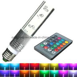 Кристально чистый звук 3 Вт Светодиодные лампы E27/GU10/E14/B22 RGB светодиодный светильник