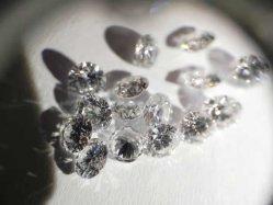熱い販売の白い宝石用原石の実験室によって育てられる磨かれたダイヤモンドの緩くダイヤモンド