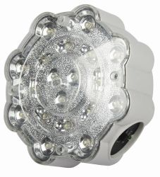 L'aube d'urgence à LED IP65 Twin Spot Light lampe de poche rechargeable incendie Spotlight (HK-4199)