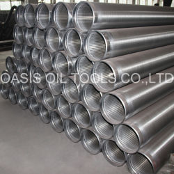 Tipo Tubo de Johnson del Acero Inoxidable 8 5/8inch del Filtro para Pozos del Agua