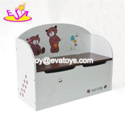 Новый дизайн детская игровая комната организация деревянные детские игрушки вещевой ящик для оптовых W08c155