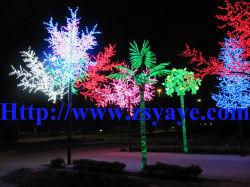 Yaye 18 Hot vendre ce & RoHS extérieur/intérieur LED IP65 Cherry Blossom Tree/ conduit Érable / LED et LED Willow Tree Noix de Coco Palm Tree Lumière avec garantie 2 ans