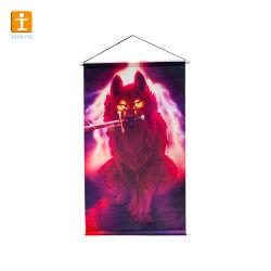 프로모션 선물 Vertical Art Fabric Hanging Banner