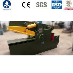 machine de recyclage de mise au rebut des déchets/Q43 Crocodile Machine de découpe de fer/de la ferraille de cisaillement hydraulique