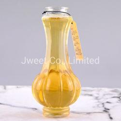375ml一義的なデザインつぼの形のワインのためのガラス瓶のびん