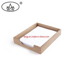 Support de bureau en bois de fichier pour l'organiseur de bureau