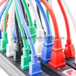 PDUサーバーラックキャビネットの電源コードIEC 320 C19 C20