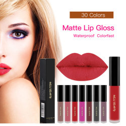 Fábrica profesional maquillaje Lip Gloss de etiqueta privada de maquillaje maquillaje