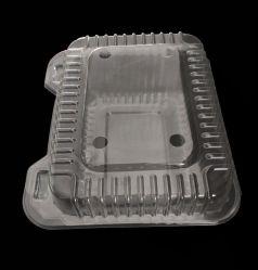 플라스틱 샐러드 또는 들쭉 상자 물집 음식 쟁반 과일 콘테이너
