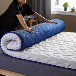 Colégio cama num dormitório colchão Rolo Portátil Dobrável e confortável espuma de memória único XL