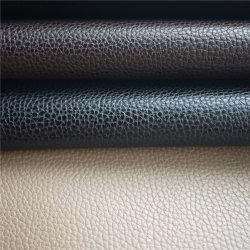 Synthetisches PU/PVC Leder der Qualitäts-für Auto-Zubehör-Sofa-Gewebe bereift materielles Möbel-Leder