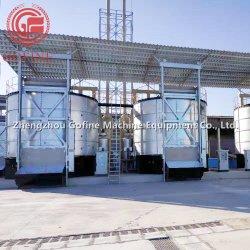 콩용 비료 제조 기계 설탕 스커m 폐기물 발효 장비