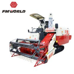 Fmworld Ruilong Plus maaidorser Rice Harvester Big-Grain-Tank versie